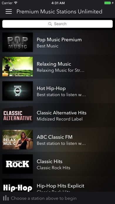 Premium Music Stations - Unlimited Screenshots