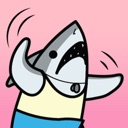 Personal Trainer Shark: Fitness Coach Stickers