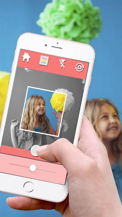 Insta frame - white square photo frames & editor by Pocket School ...