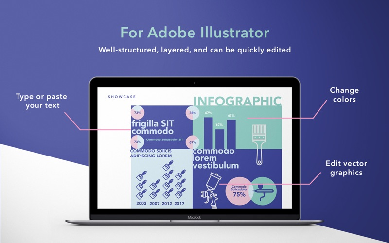 Adobe illustrator infographic templates