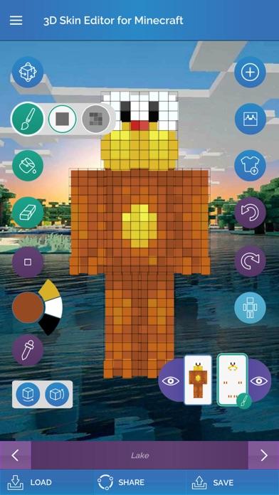 QB9's 3D Skin Editor screenshot1