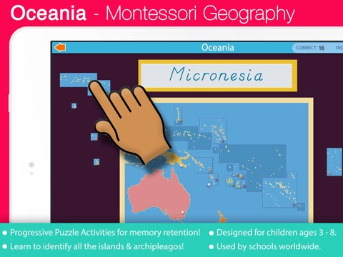 Continents & Countries of the World - A Montessori Geography Bundle with  Puzzle Maps on the App Store