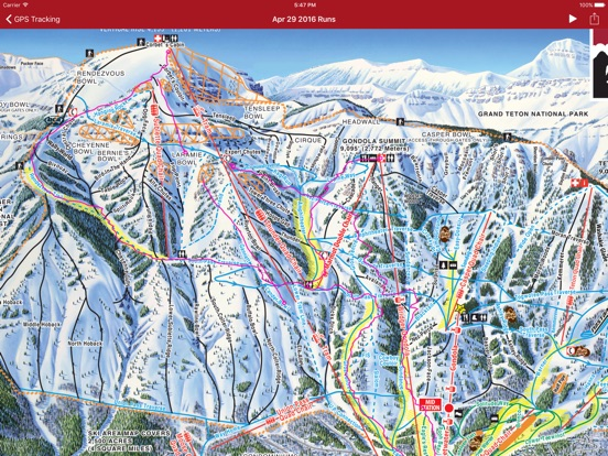 Jackson Hole On The App Store - Jackson hole us map