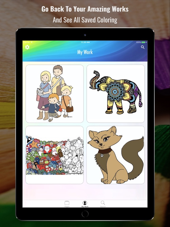 Coloring Book - Search and Color-ipad-1