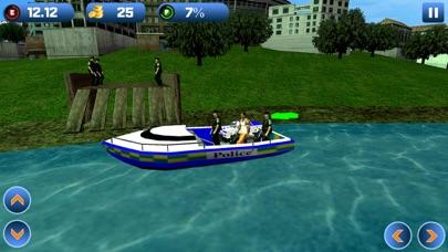 Power Boat Transporter: Police - Pro Screenshot 4