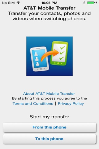 AT&T Mobile Transfer screenshot 4