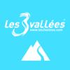 Les 3 Vallées - 3D Piste Map