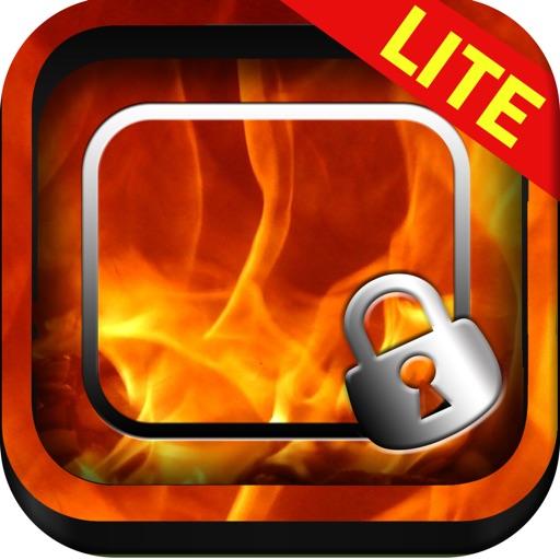 Frame Maker Fire & Flame Wallpaper Screen iOS App