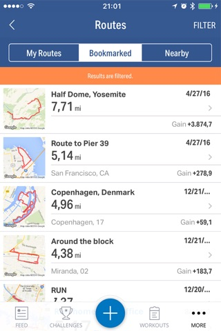 Map My Fitness by Under Armour screenshot 4