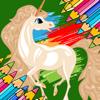 Einhörner und kleines Pony Färbung Buch Wiki
