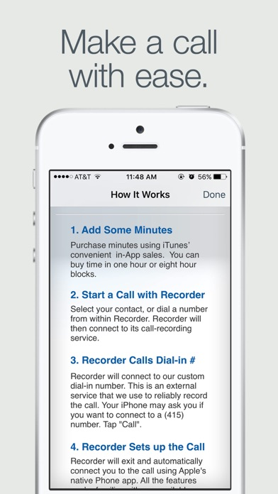 Recorder screenshot1