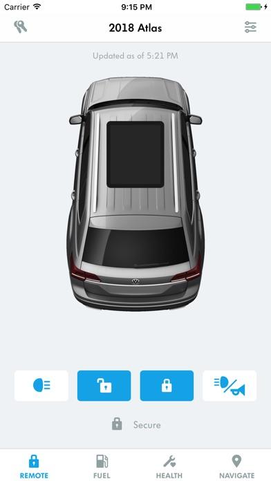 volkswagen car net security service on the app store. Black Bedroom Furniture Sets. Home Design Ideas