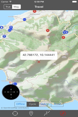 ELBA ISLAND – GPS Travel Map Offline Navigator screenshot 2