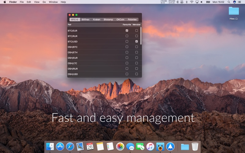 Cryptey for Mac 1.6.0 激活版 – 比特币行情跟踪-爱情守望者