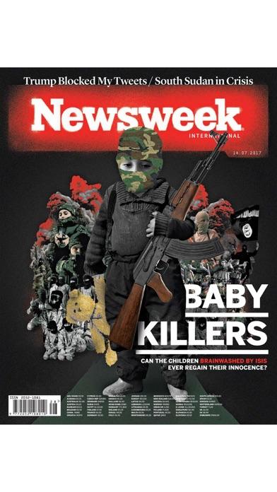 Newsweek Internationalスクリーンショット