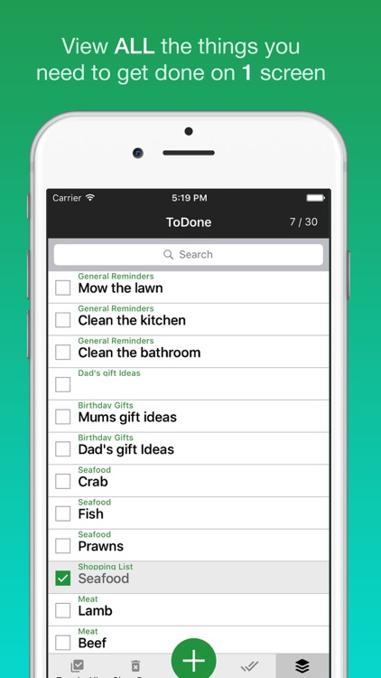 todone simple todo list with unlimited subtasks by adrian twarog