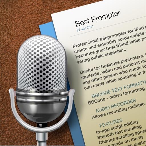 最佳台词提醒器:Best Prompter【演讲助手】