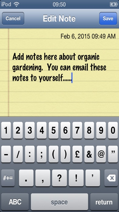 Organic Gardening Tips screenshot two
