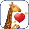 Жираф Cam - детские стикеры жирафа