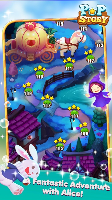 Pop Story: tour with Alice in fairy tales Screenshot