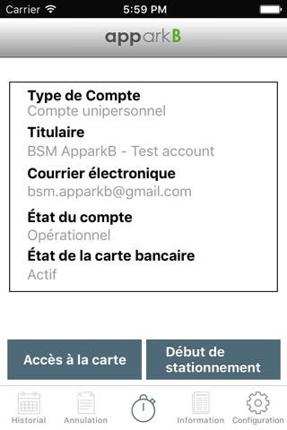 apparkB screenshot 4