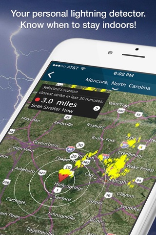 WeatherBug - Radar, Forecast screenshot 3