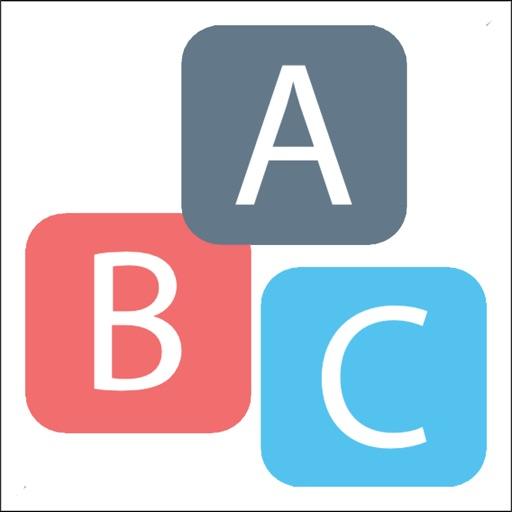 puzzle games - Merged Alphabet