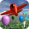Adam Grodzki - Little Airplane 3D for kids: learn numbers, colors artwork