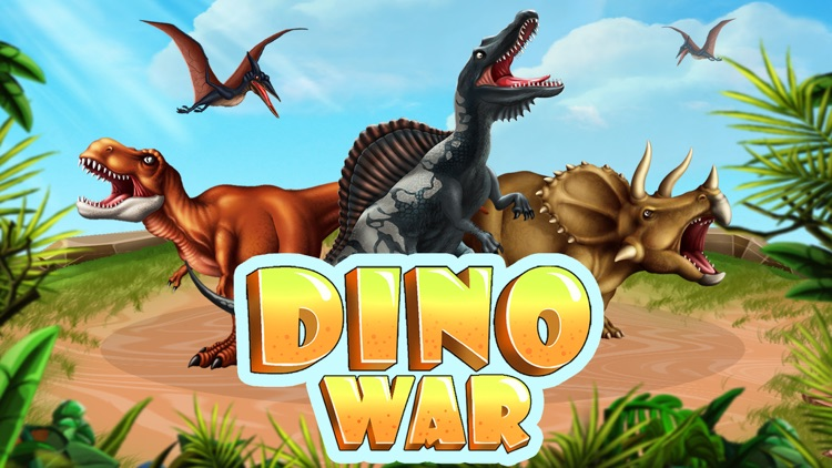 dino war dinosaurs fighting battle game by zia u