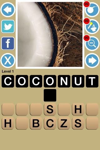 Zoom Out Food Game Quiz Maestro screenshot 2