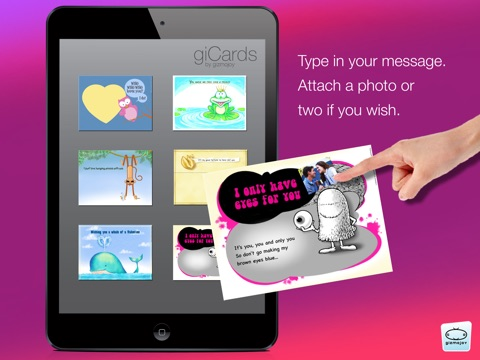 giCards-Love screenshot 2