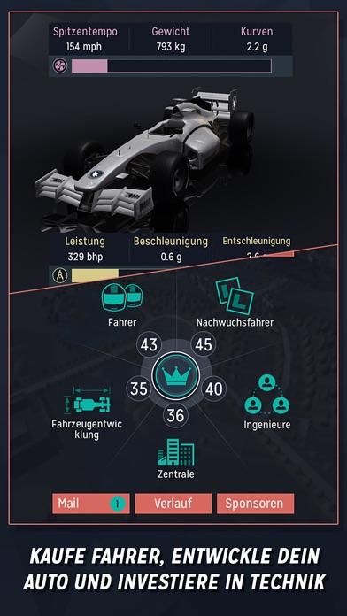 Motorsport Manager Handheld Screenshot