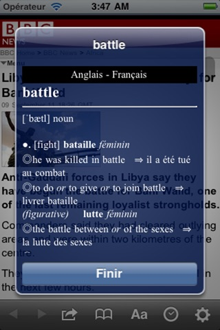 French Dictionaries screenshot 4