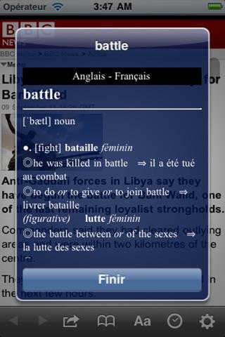 French Dictionaries screenshot 4