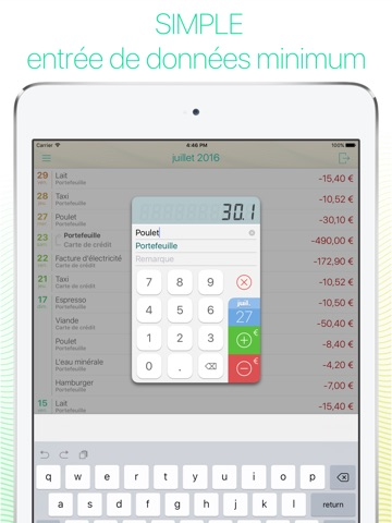 Screenshot #5 pour Frugi - Gestionnaire de finances personnelles pour