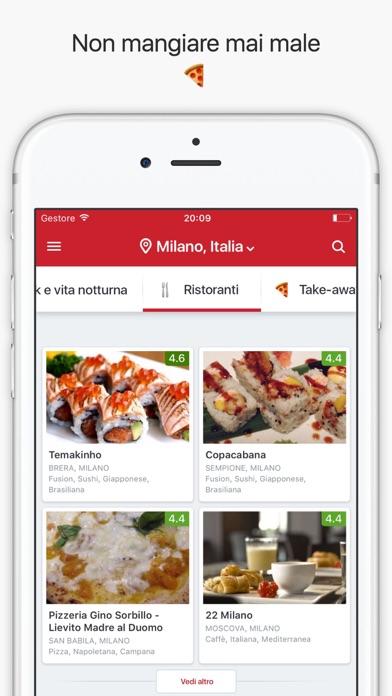 Zomato - Food & Restaurant Finder Screenshot
