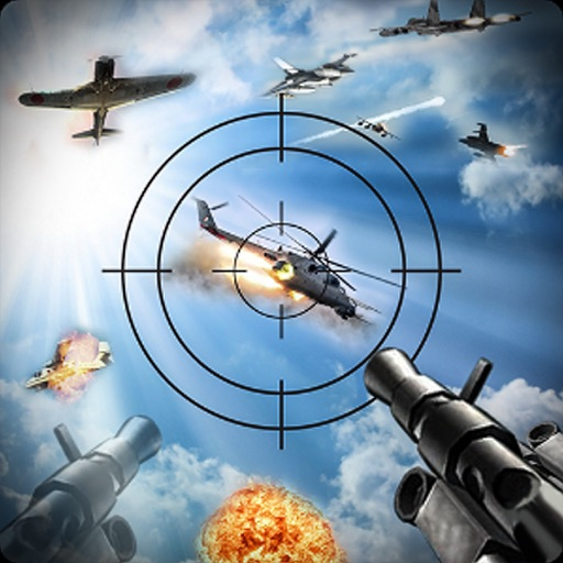 Air Fighter Gunner Storm - F22 Raptor Jet Games 3d iOS App