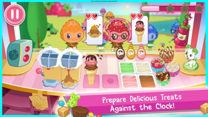 Strawberry Shortcake Ice Cream Screenshot 3