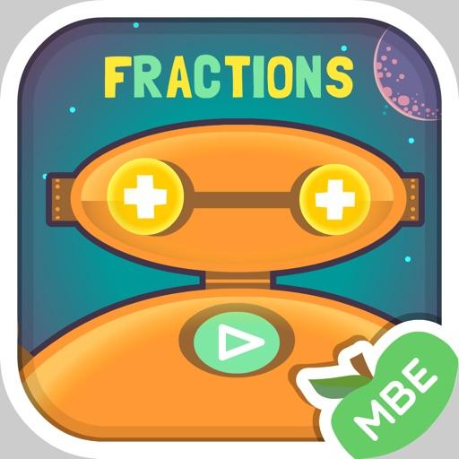 Robo Math Fractions iOS App