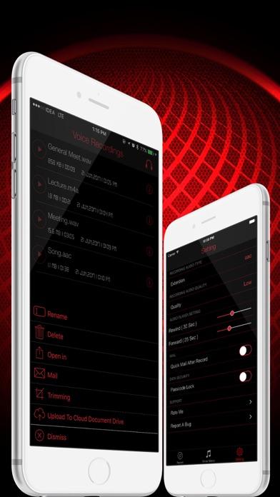 HD Audio Recorder Pro Screenshots