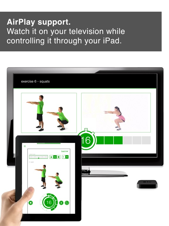 7 Minute Workout Challenge HD for iPad Screenshots