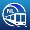 Ámsterdam Guía de Metro con mapa offline