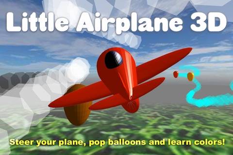 Little Airplane 3D for kids: learn colors, numbers screenshot 1
