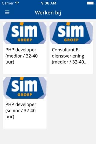 SIMgroep screenshot 3