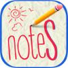 As notas obstruem rápidas - esboços e organizar