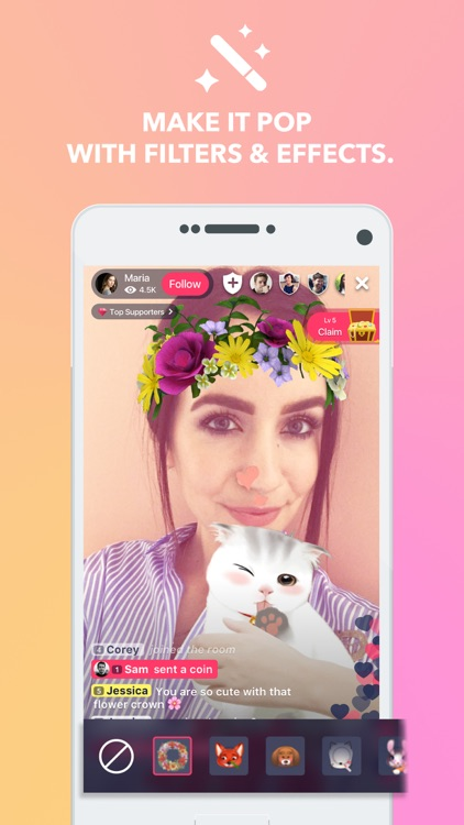 PocketLIVE - fun live video chat rooms by PocketSocial