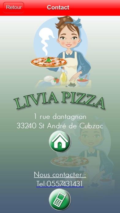 Livia PizzaCapture d'écran de 4