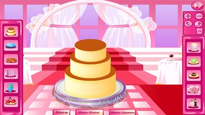 العاب طبخ كعكة الزفاف الكبيرة العاب بناتلقطة شاشة3