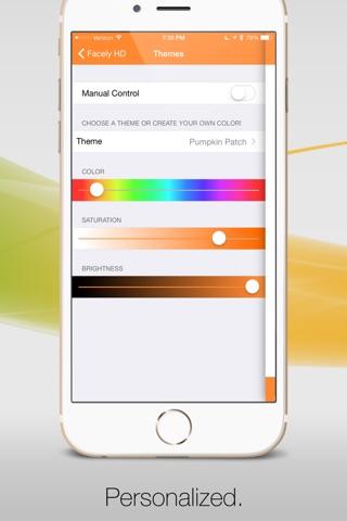 Facely HD for Facebook + Social Apps screenshot 3