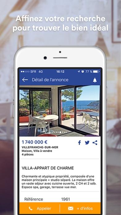 Maisons et Appartements screenshot